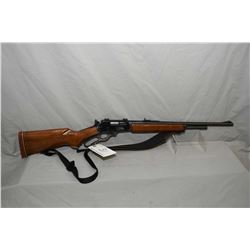 "Marlin Model 336 ER .356 Win Cal Lever Action Rifle w/ 20"" rnd bbl 3/4 mag [ blued finish, some mark"