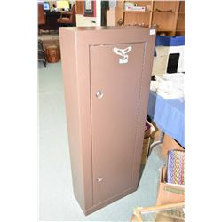 Homak Brown Metal Gun Locker