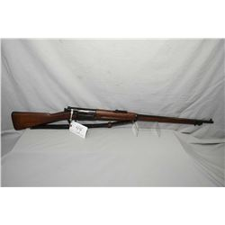 "U.S. Springfield Armory Model 1896 .30 - 40 Krag Cal ? Bolt Action Full Wood Military Rifle w/ 30"" b"