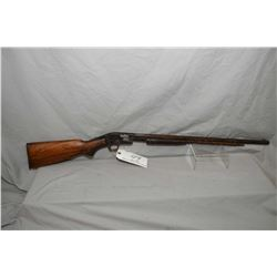 "Savage Model 25 .22 LR Cal Pump Action Rifle w/ 24"" octagon bbl [ blued finish turning brown with su"