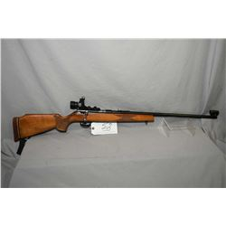 "CIL Anschutz Model 310 .22 LR Cal Mag Fed Bolt Action Rifle w/ 24"" bbl [ blued finish, back barrel s"