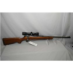 "Savage Model 340 B .222 Rem Cal Mag Fed Bolt Action Rifle w/ 24"" bbl [ blued finish starting to fade"