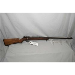 "Remington Model 41 - P Target Master .22 LR Cal Single Shot Bolt Action Rifle w/ 27"" bbl [ patchy an"