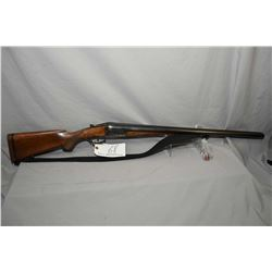 J.P. Sauer & Sohn Model Special - Gewehr .12 Ga Side By Side Shotgun w/ 720 mm bbls [ fading blue fi