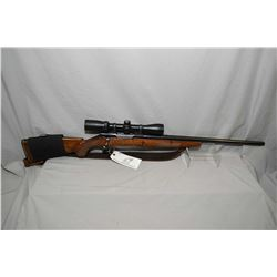 "Sako Model L5794 Forester .22 / 250 Cal Bolt Action Rifle w/ 24"" heavy tapered bbl [ blued finish, n"