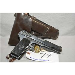 Tokarev Model TT 33 Dated 1946 7.62 MM Tokarev Cal 8 Shot Semi Auto Pistol w/ 115 mm bbl [ blued fin