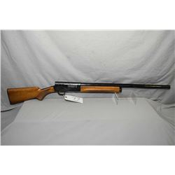 "Browning ( Belgium ) Model Auto 5 Light Twelve .12 Ga 2 3/4"" Semi Auto Shotgun w/ 27 1/2"" Vent Rib b"
