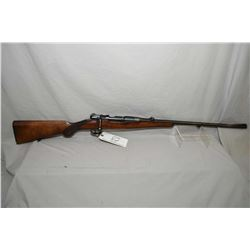 "Husqvarna Model Sporter 9.3 x 57 Cal Bolt Action Rifle w/ 24 1/2"" bbl [ blue finish starting to fade"