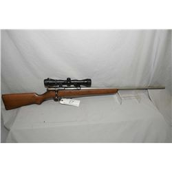 "Savage Model 40 Super Sporter Action .250 / 3000 Cal Mag Fed Bolt Action Rifle w/ 26"" stainless cust"