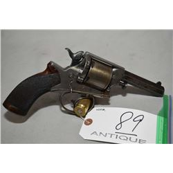 "Tranter Model 1868 .450 Revolver Cal 5 Shot Revolver w/ 4 1/4"" octagon bbl [ most of original blue h"