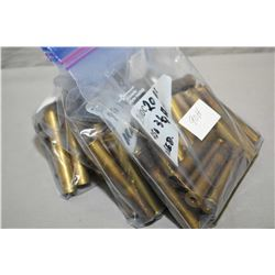 "Lot of Three Bags : 2 Bags ( 20 rnds per ) .450 3 1/4"" BPE Used Brass - One Bag ( 20 rnds per ) .450"