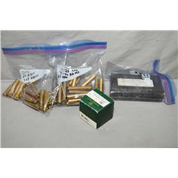 Lot of Three Bags & One Box : 1 Bag ( 20 rnds ) .348 Win New Brass - 1 Bag ( 25 rnds ) .45 - 90 As N