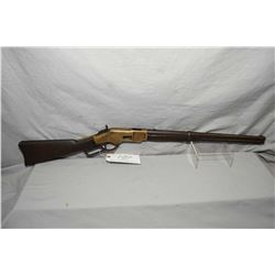 Winchester Model 1866 .44 Centerfire Cal Converted From Rimfire Lever Action Saddle Ring Carbine w/