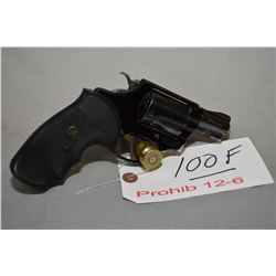 Smith & Wesson Model 37 Airweight .38 Spec Cal 5 Shot Revolver w/ 51 mm bbl [ blued finish, alloid f