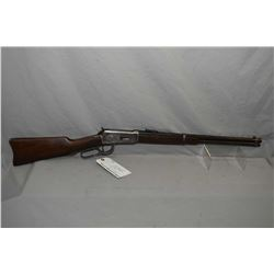 "Winchester Model 1894 .30 WCF Cal Lever Action Saddle Ring Carbine w/ 20"" bbl [ fading blue finish,"