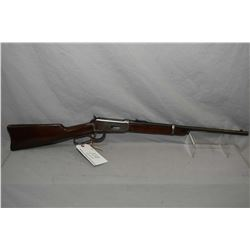 "Winchester Model 1894 .30 WCF Cal Lever Action Saddle Ring Carbine w/ 20"" round barrel button mag ["