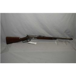 "Winchester Model 1886 .33 WCF Cal Lever Action Rifle w/ 24"" round barrel half mag [ fading blue fini"
