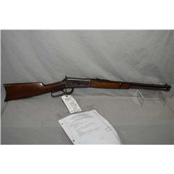 "Winchester Model 1894 .38 - 55 Cal Lever Action Carbine w/ 20"" round barrel full mag [ fading blue f"