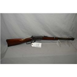 "Winchester Model 1894 .30 WCF Cal Lever Action Saddle Ring Carbine w/ 20"" round barrel, full mag [ b"