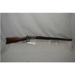 "Winchester Model 1894 .38 - 55 Cal Lever Action Rifle w/ 26"" round barrel full mag [ fading blue fin"