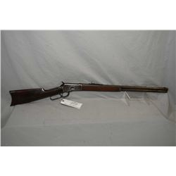 "Winchester Model 1892 .44 WCF Cal Lever Action Rifle w/ 24"" round barrel full mag [ blued finish, fa"