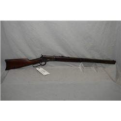 "Winchester Model 1892 .44 WCF Cal Lever Action Rifle w/ 24"" round barrel full mag [ fading blue fini"