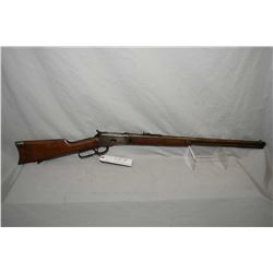 "Winchester Model 1892 .32 WCF Cal Lever Action Rifle w/ 24"" round barrel [ fading blue finish turnin"