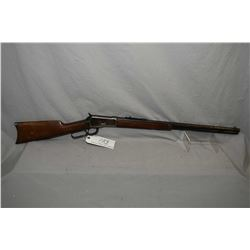 "Winchester Model 1892 .25 - 20 WCF Cal Lever Action Rifle w/ 24"" round barrel full mag [ fading blue"