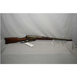 "Winchester Model 1895 .35 WCF Cal Lever Action Rifle w/ 24"" round barrel [ fading blue finish, barre"