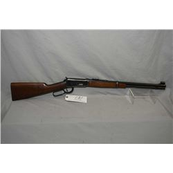 "Winchester Pre 64 Model 94 Flat Band .32 Win Spec Cal Lever Action Carbine w/ 20"" bbl [ fading blue"
