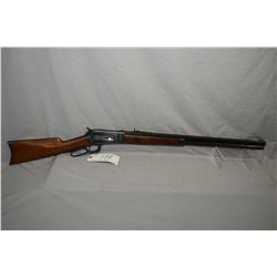 "Winchester ? Model 1886 .40 - 65 WCF Cal Lever Action Rifle w/ 26"" new octagon barrel and full new m"