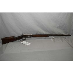 "Winchester Model 1894 .30 WCF Cal Lever Action Rifle w/ 26"" round barrel [ fading blue finish, turni"