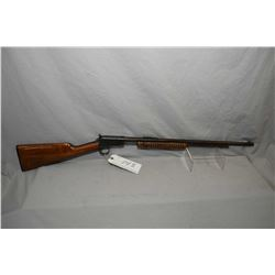 "Winchester Model 62A .22 LR Cal Tube Fed Pump Action Rifle w/ 23 "" round barrel [ fading blue finish"
