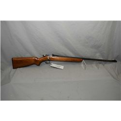 "Winchester Model 68 .22 LR Cal Single Shot Bolt Action Rifle w/ 27"" round barrel [ blued finish star"