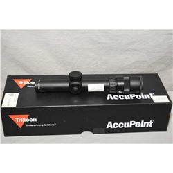 Trijicon Accupoint 1 - 4 x 24 Scope Ser # 00A01655 German # 4 [ appears as new in orig box w/booklet