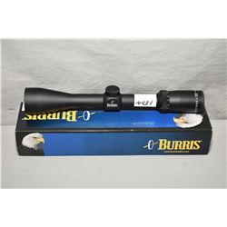 Burris Fullfield II 3 - 9 x 40 Scope Ballistic Plex Never Mounted [ appears v - good in orig box ]