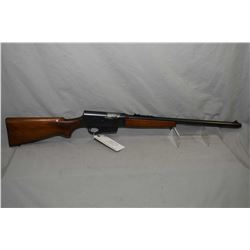 "Remington Model 81 The Woodsmaster .35 Rem Cal Semi Auto Rifle w/ 22"" bbl [ appears v - good, blued"
