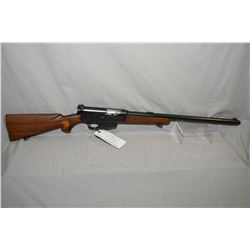 "Remington Model 82 The Woodsmaster .35 Rem Cal Semi Auto Rifle w/ 22"" barrel [ blued finish starting"