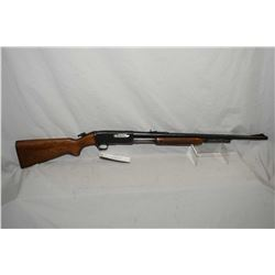 "Remington Model 141 The Gamemaster .30 Rem Cal Tube Fed Pump Action Rifle w/ 24"" round barrel [ blue"