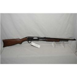 "Remington Model 14 - A .35 Rem Cal Tube Fed Pump Action Rifle w/ 22"" bbl [ blued finish, barrel sigh"