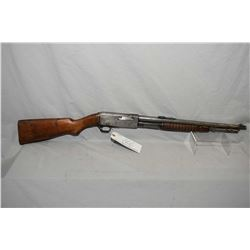 "Remington Model 14 R .32 Rem Cal Tube Fed Pump Action Carbine w/ 18 1/2"" bbl [ blued finish fading t"