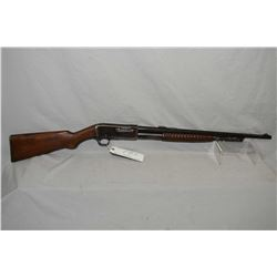 "Remington Model 14 .25 Rem Cal Tube Fed Pump Action Rifle w/ 22"" bbl [ blued finish, starting to fad"