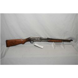 "Remington Model 14 R .30 Rem Cal Tube Fed Pump Action Carbine w/ 18 1/2"" bbl [ traces of blue finish"