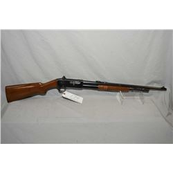 "Remington Model 14 .30 Rem Cal Tube Fed Pump Action Rifle w/ 22"" bbl [ blued finish, with some marks"