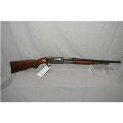 "Remington Mod 14 .30 Rem Cal Tube Fed Pump Action Rifle w/ 22"" bbl [ faded blue finish, more in prot"