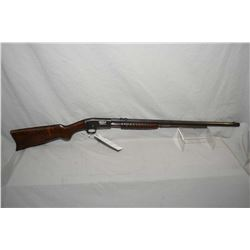 "Remington Model 12 .22 Rem Spec Cal Tube Fed Pump Action Rifle w/ 24"" octagon bbl [ fading blue fini"