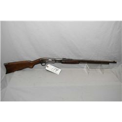 "Remington Model 25 .25 - 20 Cal Tube Fed Pump Action Rifle w/ 24 "" bbl [ faded blue finish turning b"