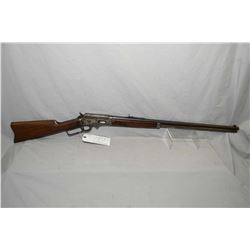 "Marlin Model 1893 ..30 - 30 Cal Lever Action Rifle w/ 26"" round bbl full mag [ faded blue finish, ap"