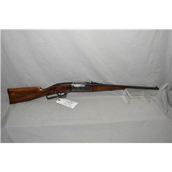 "Savage Model 1899 Take Down .22 H.P. Cal Lever Action Rifle w/ 20 "" bbl [ blued finish, fading in ca"