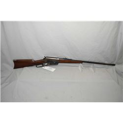 "Winchester Model 1895 .40 - 72 WCF Cal Lever Action Rifle w/ 26"" round bbl [ blued finish, fading in"